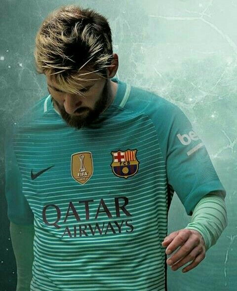 Messi in the Barça