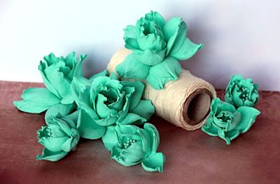 Blog Craft Passion: video tutorial na kwiaty z foamiranu / foamiran flowers video tutorial