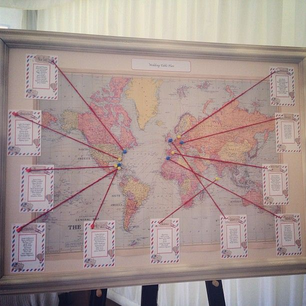 54 best seating table plan ideas weddings and events images on another lovely world map wedding table plan tableplans seating plans another cute gumiabroncs Choice Image