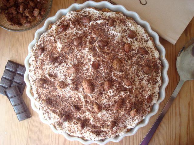 Banoffee Pie (Koláč s banány a karamelem)