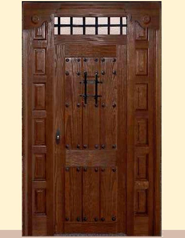 M s de 25 ideas incre bles sobre puertas r sticas en for Puertas rusticas exterior