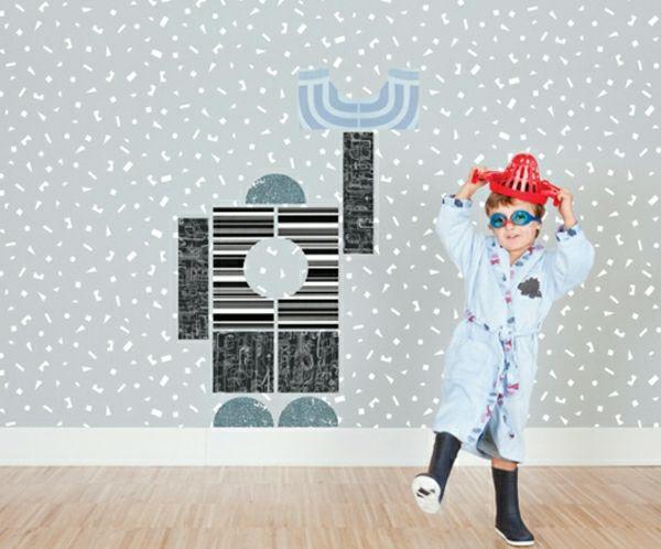 Wandtapeten F?r Babyzimmer : Robot Design Ideas