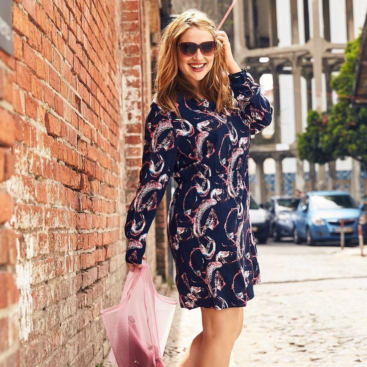 Kleid Aus 100 Viskose Gibt S In Grossen Ab 42 Auf Www Studio Untold Com Plussize Mode Fashion Plussizeblog Mode Grosse Grossen Mode Lassige Outfits