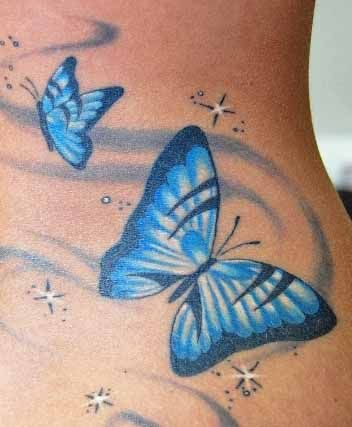 Butterfly Tattoos Designs - Images, designs, photos and flash of butterflies