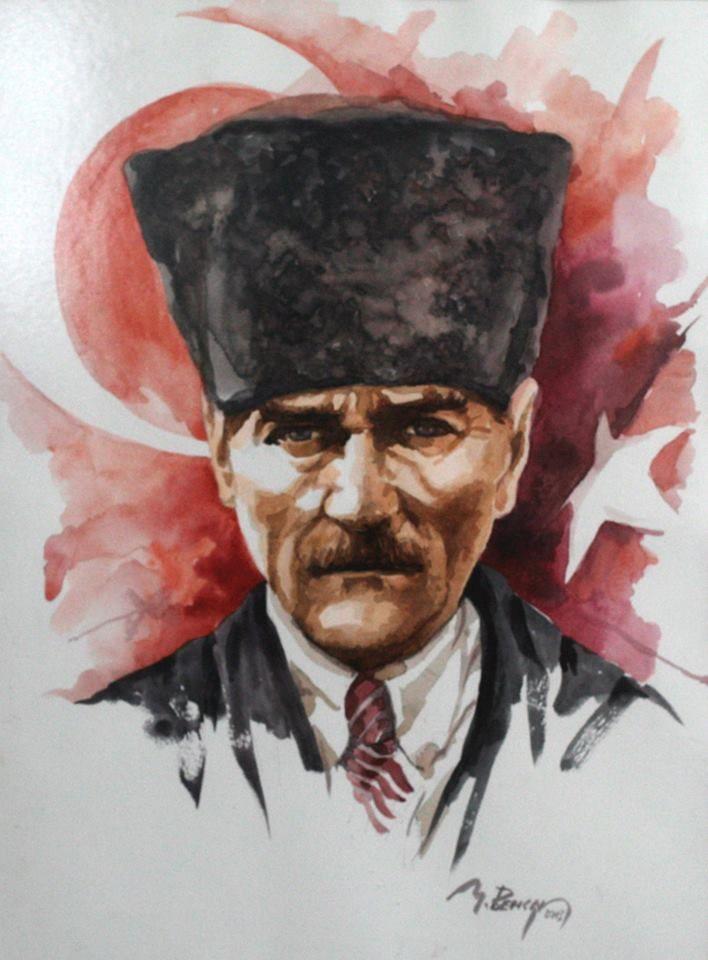 MUSTAFA BENCAN Watercolor