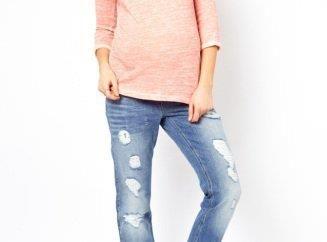 Современные джинсы для беременных