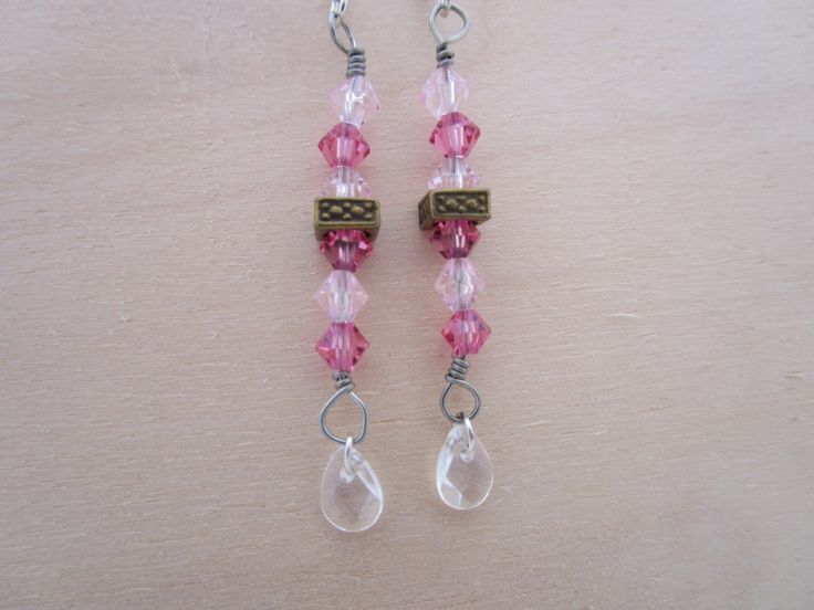 Legally Pink Earrings by NovemberSunset on Etsy