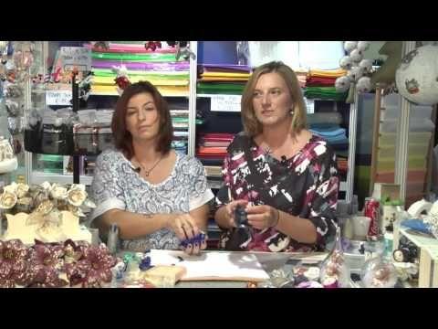 Video Tutorial #creattivachannel Rosa in fommy con Chiara Ameglio - YouTube