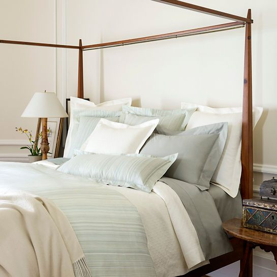 Bring the shades of the ocean to your bedroom with this luxuriously soft Egyptian cotton duvet & 34 best Romantic Interiors u0026 Inspiration images on Pinterest ...