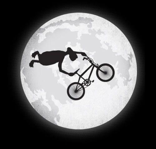 ET, The alien, the myth, the BMX stunt rider. mehr auf #bmxware