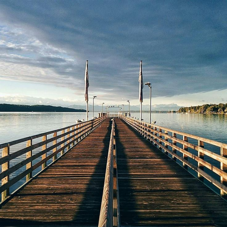 Unique Lake Starnberg in Bavaria Picture by vbcara Lake Starnberg and also known