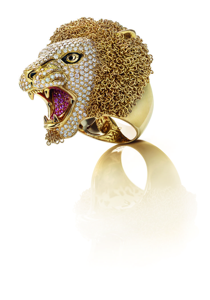 In honor of July's zodiac sign, Leo, the Limited Edition Lion Ring.