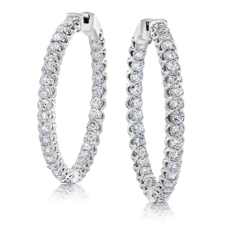 Jeffrey Daniels Diamond Earrings