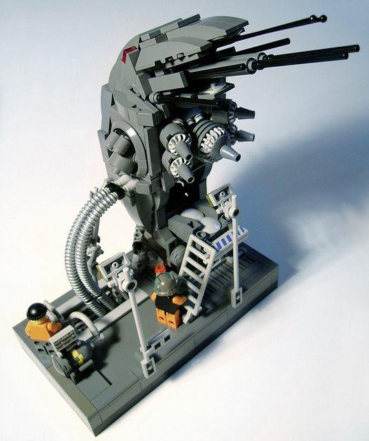 Lego. Docked ship