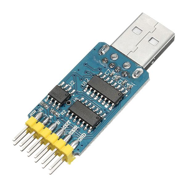 6 In 1 Multifunctional Serial Port Module CP2102 USB To TTL 485 232 Interchange Compatible With 3.3V And 5V Levels