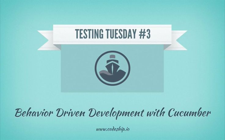 Behavior Driven Development with Cucumber. Welcome back to Codeship's Testing Tuesday! Today we are going to talk about Behavior Driven Deve...