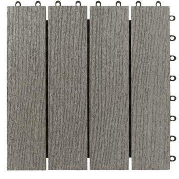 Simpli Deck Tiles 174 Wood Plastic Composite Deck Tiles
