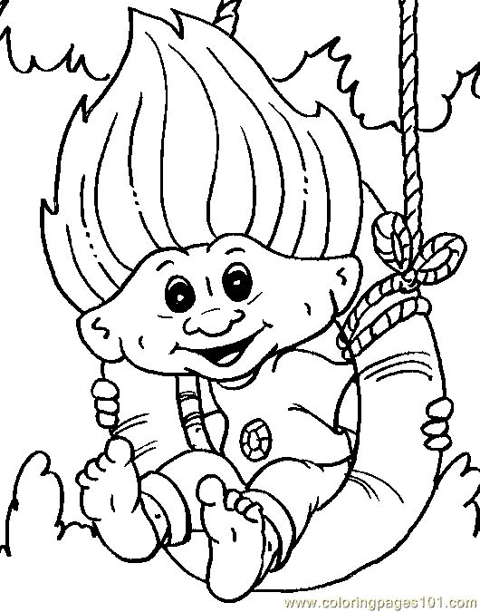 cartoon giant coloring pages | coloring page Troll Giant Coloring Page 12 (Peoples ...