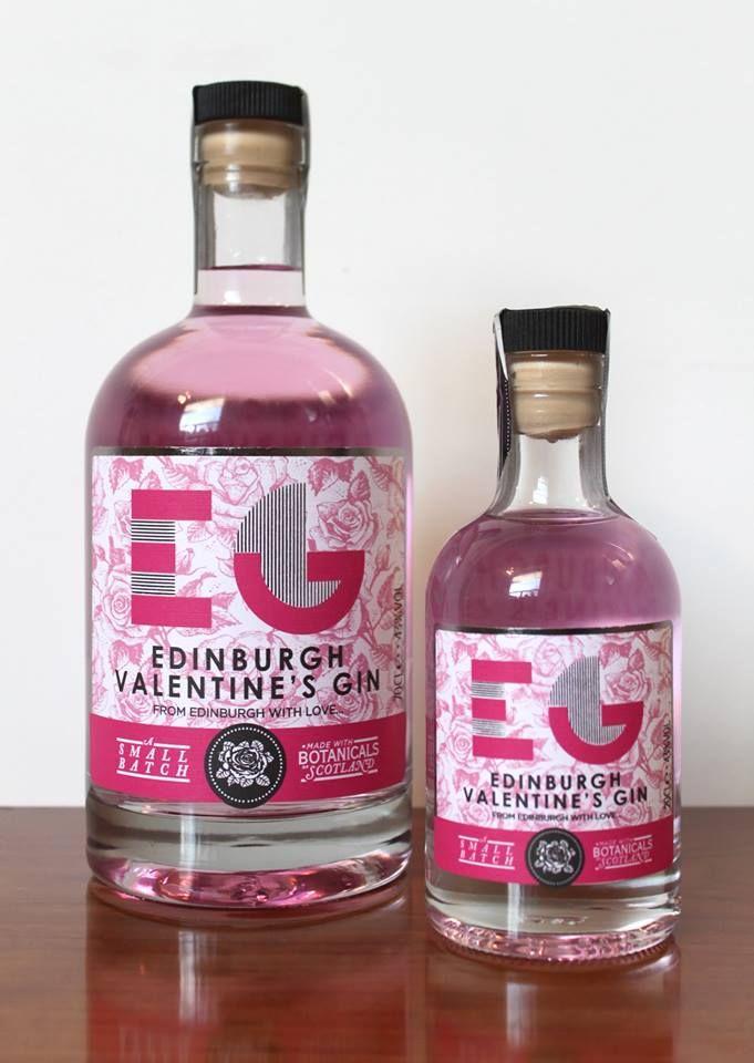 Spencerfield Spirits Valentine's edition of Edinburgh Gin PD