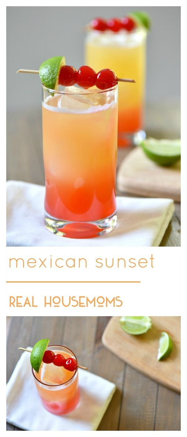 mexican sunset recipe de mayo cocktails and porches. Black Bedroom Furniture Sets. Home Design Ideas