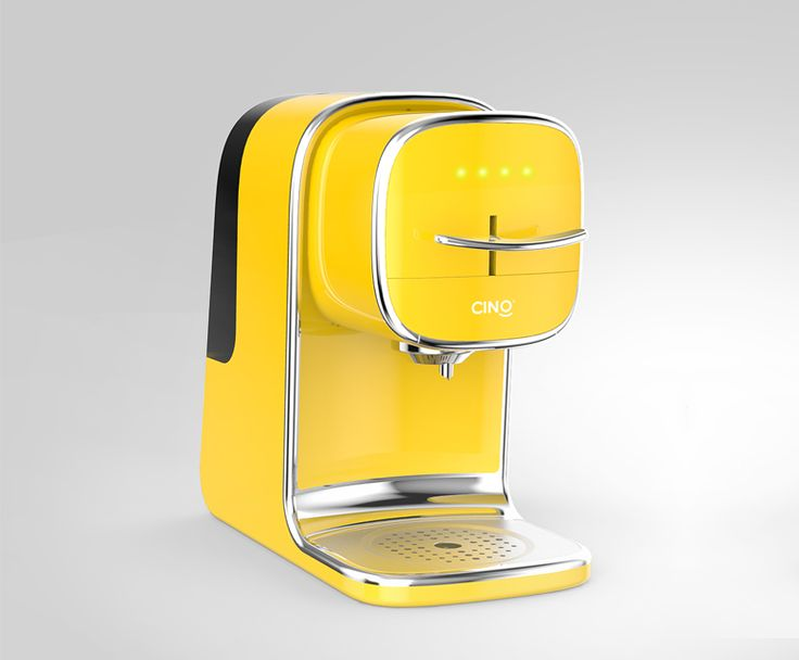 Cino coffee brewer! Impressive design for Cino.cn in Shenzhen .. They now hire professional designers to stand out of the crowd! Bravo!
