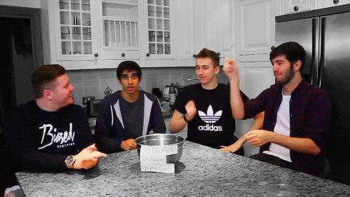 """""""I really don't know who they're doing an impression of right now, I just have no idea."""" - Vikkstar"""