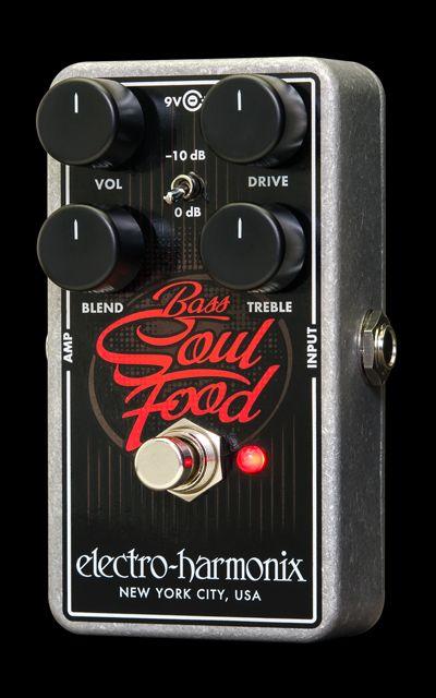 EHX.com   Bass Soul Food - Overdrive   Electro-Harmonix