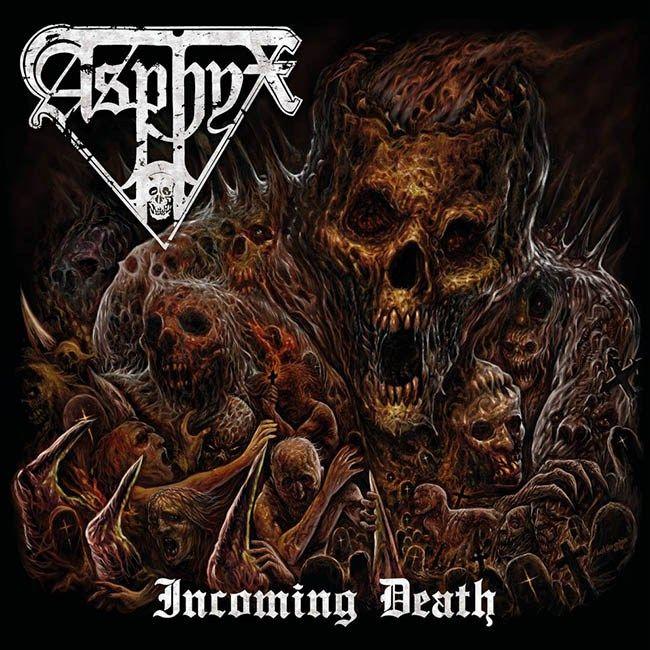 "[CRÍTICAS] ASPHYX (NDL) ""Incoming death"" CD 2016 (Century Media Records)"