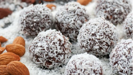 Saturday superfood balls... was there ever a better time to try this super healthy, super easy 180 paleo protein balls recipe? http://180nutrition.com.au/recipes/paleo-treats-chocolate-salty-balls/