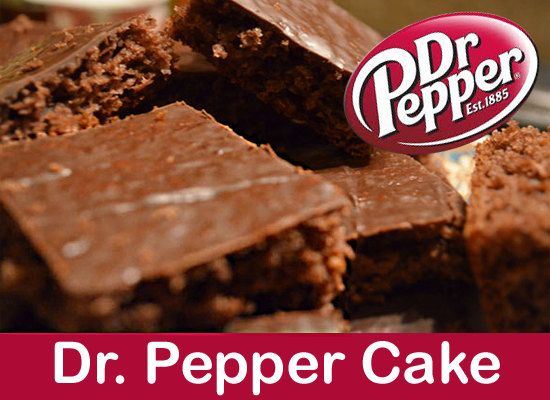 Dr. Pepper cake! So delicious! 1 c. butter 1 c. Dr. Pepper 4 tbsp. cocoa 2 eggs 1 tsp. vanilla 2 c. sugar 1/2 c. buttermilk 1 tsp. soda 2 c. flour 1