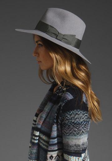 Bianca Hat in dove gray