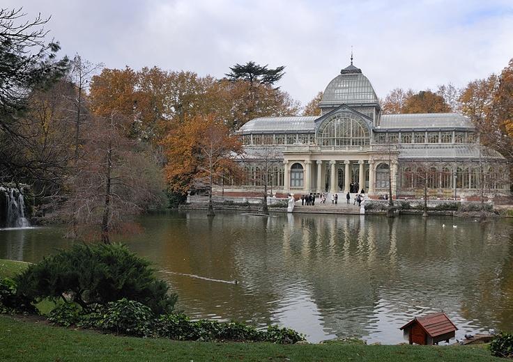 Palacio de Cristal, Parque El Retiro, Madrid