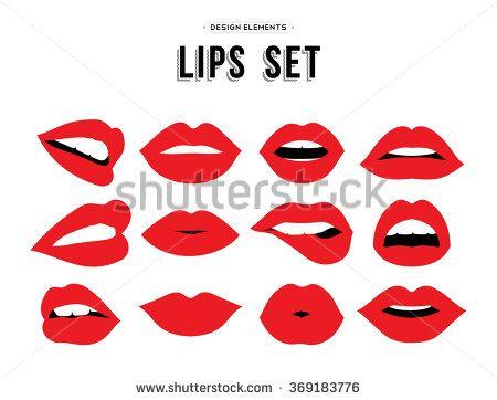Δωρεάν σκίτσο: Χείλη, Κόκκινο, Καρδιές, Emojis - Δωρεάν εικόνα στο Pixabay - 621210