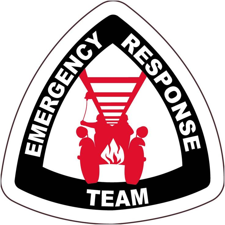 Emergency Response Team With Graphic    Emergency Response