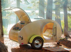 Life: Ten Adorable Vintage Teardrop Campers | justb.