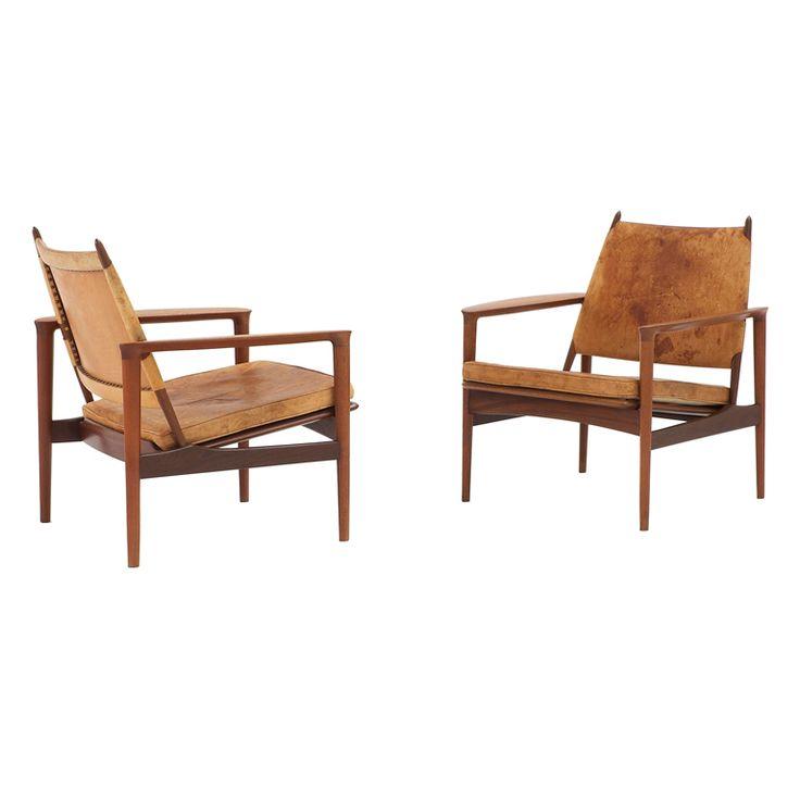 torbjørn afdal broadway chairs   superb patina   yum