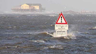 Wetternews: Schwerer Winterorkan droht - Sturmflutgefahr an der Nordsee - WetterOnline