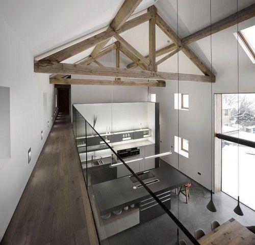 Un vecchio fienile trasformato in una residenza moderna (fotogallery) — idealista/news