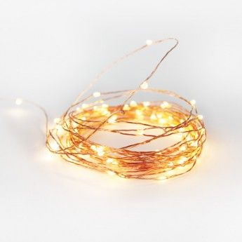 Copper Wire String Lights -10 metre length  $69.95 to create an inspiring creative space!