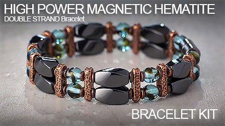 6b62836231de1 High Power Magnetic Hematite Double Strand Bracelet Kit | YouTube ...