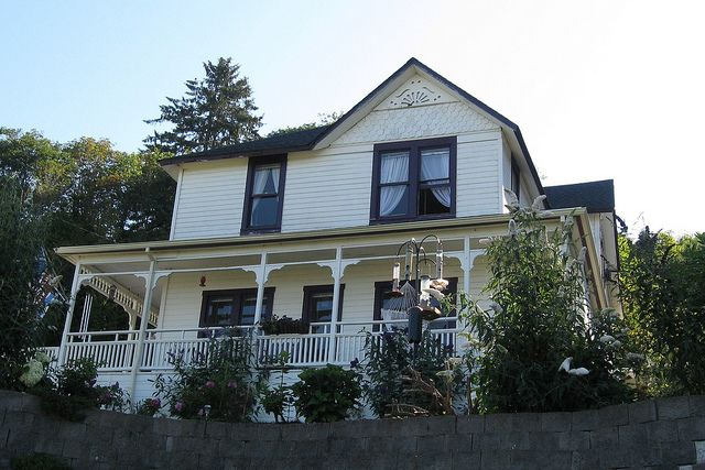 """The Goonies House"" in Astoria, Oregon"