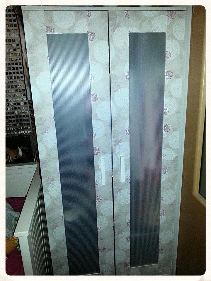 Polepená skříň Ikea