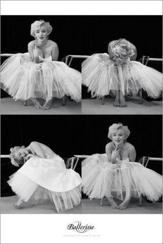 Marilyn Monroe - Ballerina Sequence Bilder: Poster bei Posterlounge.de