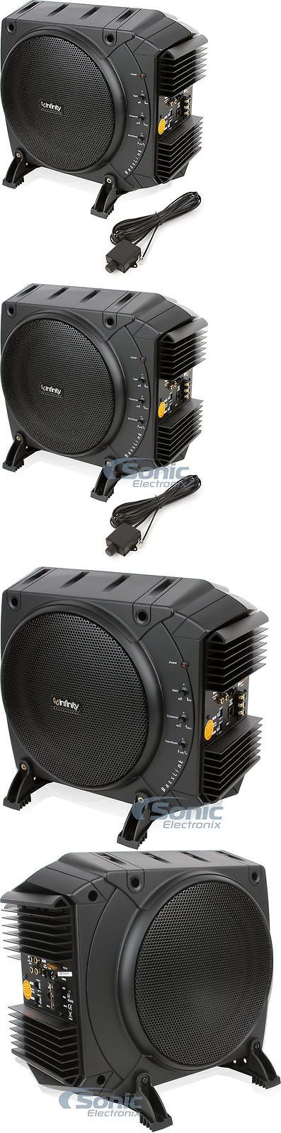 Car Subwoofers: Infinity Basslink 200W Rms 10 Class D Amplified Subwoofer Bass System BUY IT NOW ONLY: $169.99