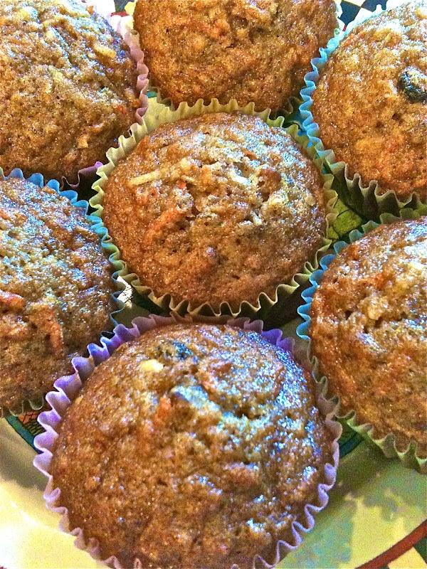 Morning Glory Muffins. Make them gluten free, vegan, or low fat ...
