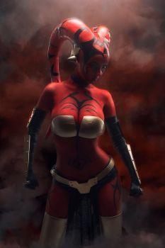 Star Wars Legacy - Darth Talon cosplay by Disharmonica