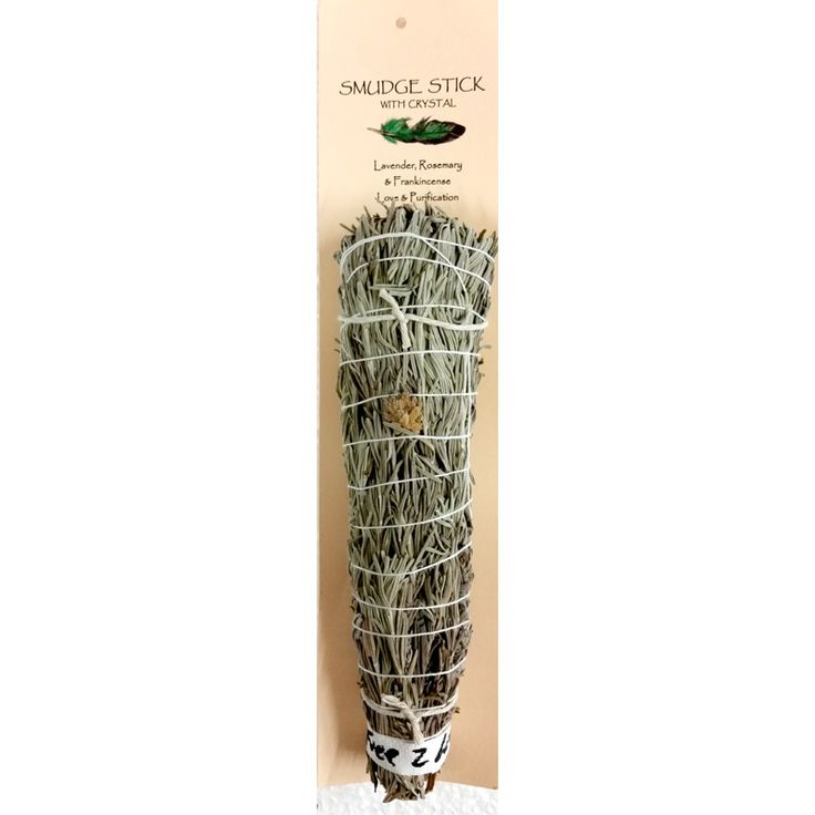 Our Lavender, Rosemary & Frankincense Smudge Stick is love and purification purposes. It is proudly made in Australia from Australian plants and herbs. Only $21.00