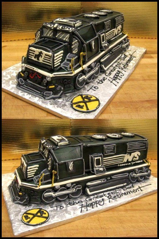 https://flic.kr/p/89xiEp   Norfolk Southern Cake   3D cake to serve approx. 50 people...