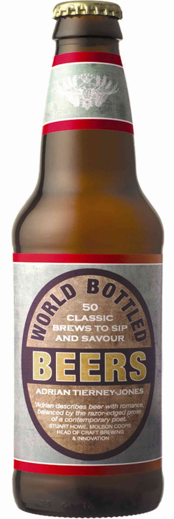 A delightful gift for any discerning beer drinker, this shaped book features 50 of the world's best brews from Adams Broadside in the UK to US classics such as Bear Republic Racer 5 IPA and Sierra Nev