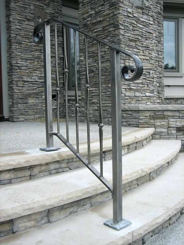 Outdoor Stair Rail Exterior Railing Ideas Best On Deck Simple